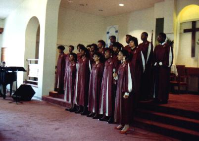 Gospelchor in Portugal